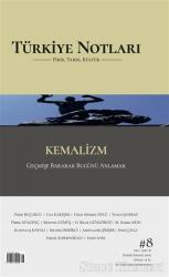 Türkiye Notları Fikir Tarih Kültür Dergisi Sayı: 8