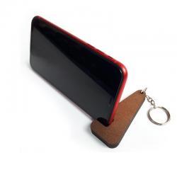 Anahtarlık Ahşap Telefon Standı Model 1