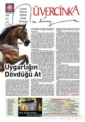 Üvercinka Dergisi Sayı: 57 Temmuz 2019