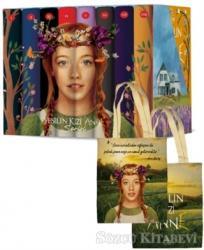 Yeşilin Kızı Anne Karton Kutulu Set (8 Kitap Takım)