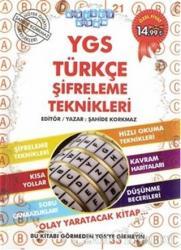 YGS Türkçe Şifreleme Teknikleri 2013