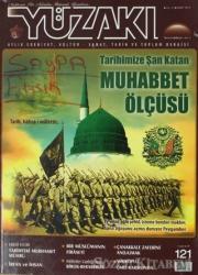 Yüzakı Aylık Edebiyat, Kültür - Sanat, Tarih ve Toplum Dergisi Sayı: 121