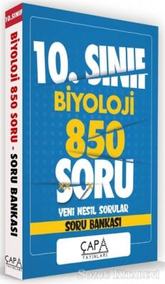 10.Sınıf Biyoloji 850 Soru Yeni Nesil Sorular - Soru Bankası