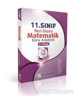 11. Sınıf Matematik İleri Düzey Konu Anlatımlı (2 Kitap)