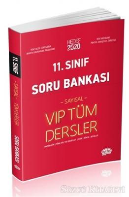 11. Sınıf Sayısal VIP Tüm Dersler Soru Bankası 2020
