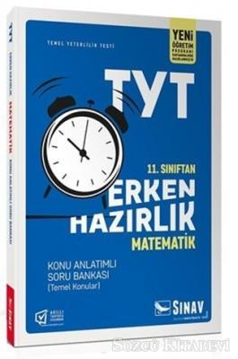 Kolektif - 11. Sınıf TYT Erken Hazırlık Matematik Konu Anlatımlı Soru Bankası | Sözcü Kitabevi