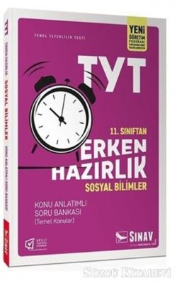 Kolektif - 11. Sınıf TYT Erken Hazırlık Sosyal Bilimler Konu Anlatımlı Soru Bankası   Sözcü Kitabevi