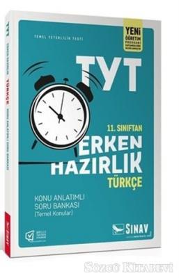 Kolektif - 11. Sınıf TYT Erken Hazırlık Türkçe Konu Anlatımlı Soru Bankası | Sözcü Kitabevi