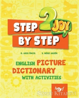 2.Sınıf Step By Step Joy English Picture Dictionary 2019