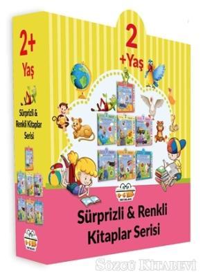 Kolektif - 2+ Yaş Sürprizli ve Renkli Kitaplar Serisi (7 Kitap Set) | Sözcü Kitabevi