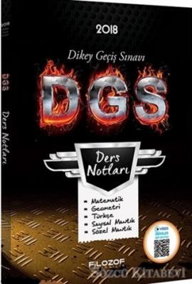 2018 DGS Ders Notları Video Destekli