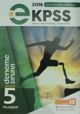 2018 e-Kpss 5 Engelli Kamu Personeli Seçme Sınavı Çözümlü Deneme Sınavı