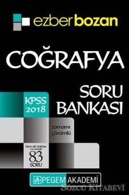 2018 KPSS Ezberbozan Coğrafya Soru Bankası