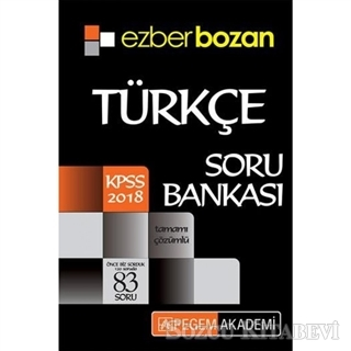 Kolektif - 2018 KPSS Ezberbozan Türkçe Soru Bankası | Sözcü Kitabevi