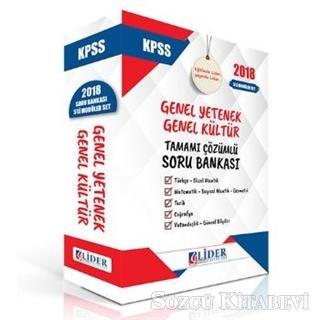 2018 KPSS Genel Kültür Genel Yetenek Tamamı Çözümlü Soru Bankası Seti