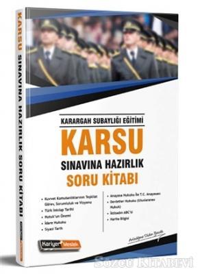 2019 Karsu Karargah Subaylığı Sınavına Hazırlık Soru Kitabı