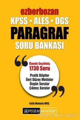 Fatih Mehmet Muş - 2019 KPSS ALES DGS Ezberbozan Paragraf Soru Bankası | Sözcü Kitabevi