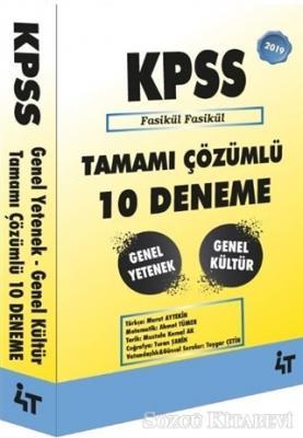 Murat Aytekin - 2019 KPSS Genel Yetenek Genel Kültür Tamamı Çözümlü 10 Deneme | Sözcü Kitabevi