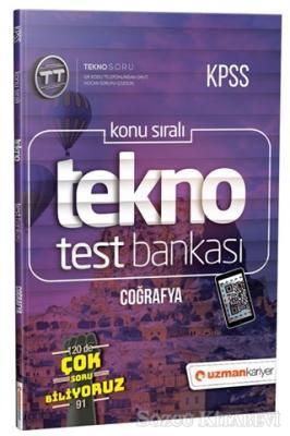 2019 KPSS Konu Sıralı Tekno Test Bankası - Coğrafya