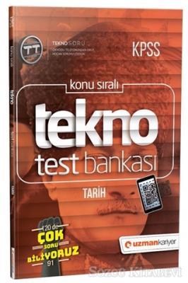 2019 KPSS Konu Sıralı Tekno Test Bankası - Tarih