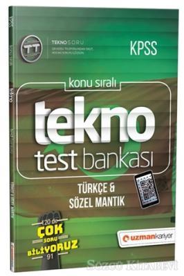 2019 KPSS Konu Sıralı Tekno Test Bankası - Türkçe ve Sözel Mantık