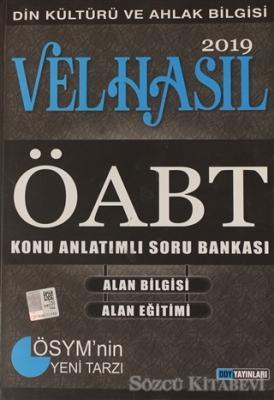 Kolektif - 2019 ÖABT Din Kültürü ve Ahlak Bilgisi Öğretmenliği Konu Anlatımlı Soru Bankası | Sözcü Kitabevi