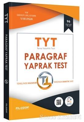 2019 TYT Paragraf Yaprak Test