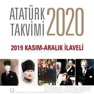 2020 Atatürk Duvar Takvimi - 2019 Kasım - Aralık İlaveli