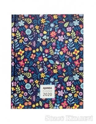 2020 Flower Garden Haftalık Ajanda (Kod:3063)