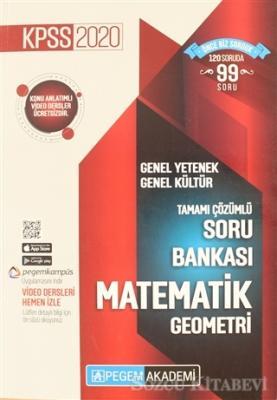 2020 KPSS Genel Yetenek Genel Kültür Tamamı Çözümlü Soru Bankası - Matematik Geometri