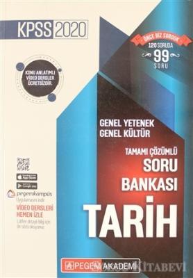 2020 KPSS Genel Yetenek Genel Kültür Tamamı Çözümlü Soru Bankası - Tarih