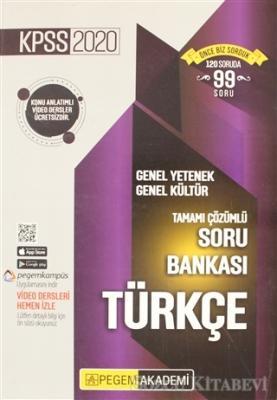2020 KPSS Genel Yetenek Genel Kültür Tamamı Çözümlü Soru Bankası - Türkçe