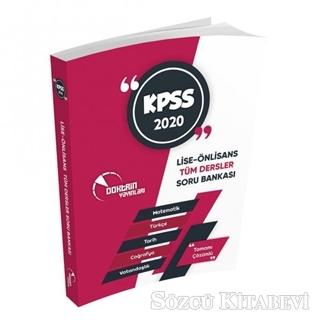 2020 KPSS Ön Lisans Ortaöğretim Genel Yetenek Genel Kültür Doktrin Tek Kitap Tamamı Çözümlü Soru Bankası