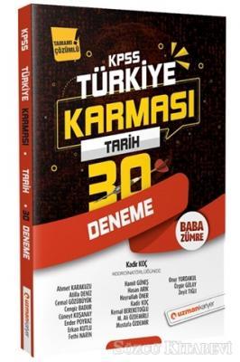 2020 KPSS Tarih 30 Deneme Türkiye Karması Tamamı Çözümlü