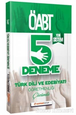 2020 ÖABT Türk Dili ve Edebiyatı Öğretmenliği Çözümlü 5 Deneme (Yeni Sistem)