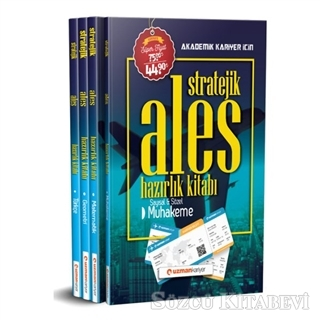Kolektif - 2020 Stratejik ALES Hazırlık Kitabı   Sözcü Kitabevi
