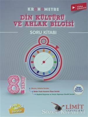 2021 8. Sınıf Kronometre Din Kültürü ve Ahlak Bilgisi Soru Kitabı