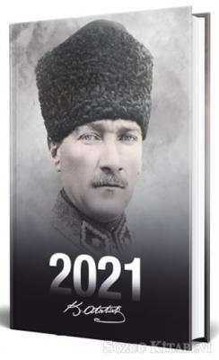 Kolektif - 2021 Atatürk Ajandası (Komutan) | Sözcü Kitabevi