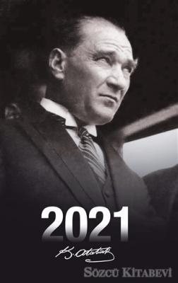 Kolektif - 2021 Atatürk Ajandası (Portre)   Sözcü Kitabevi