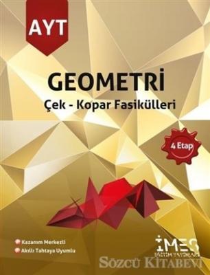 Kolektif - 2021 AYT Geometri Çek - Kopar Fasikülleri 4 Etap   Sözcü Kitabevi