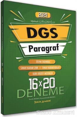 2021 DGS Paragraf Sözel Bölüm 16x20 Deneme