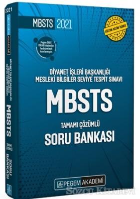 2021 Diyanet İşleri Başkanlığı Mesleki Bilgiler Seviye Tespit Sınavı - MBSTS Tamamı Çözümlü Soru Bankası
