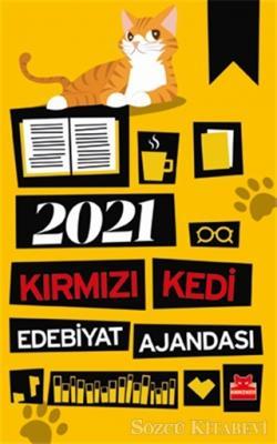Kolektif - 2021 Kırmızı Kedi Edebiyat Ajandası | Sözcü Kitabevi