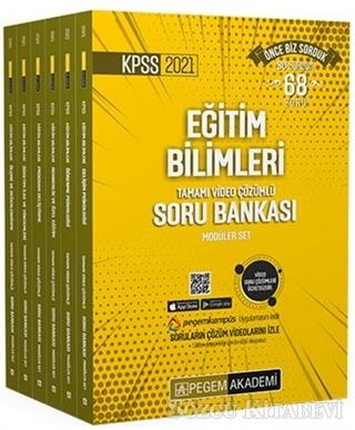 Kolektif - 2021 KPSS Eğitim Bilimleri Tamamı Video Çözümlü Soru Bankası Modüler Seti - 6 Kitap | Sözcü Kitabevi