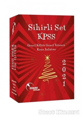 2021 KPSS Genel Kültür Genel Yetenek Konu Anlatımı Sihirli Set (5 Kitap Takım)