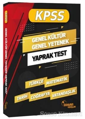 Kolektif - 2020 KPSS Genel Yetenek Genel Kültür Yaprak Test | Sözcü Kitabevi