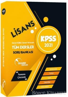 2021 KPSS Lisans Tüm Dersler Soru Bankası