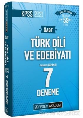 Kolektif - 2021 KPSS ÖABT Türk Dili ve Edebiyatı Tamamı Çözümlü 7 Deneme | Sözcü Kitabevi