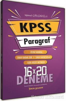 2021 KPSS Paragraf Sözel Bölüm 16x20 Deneme