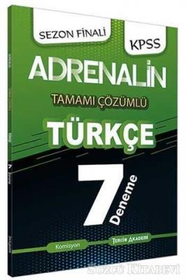 2021 KPSS Türkçe Adrenalin Tamamı Çözümlü